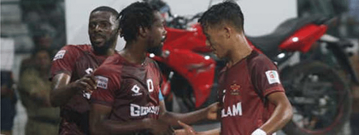 Gokulam Kerala thump Quess East Bengal 3-1 to rise to fourth spot