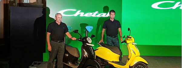 Bajaj Auto launches Chetak Electric @ Rs 1 lakh