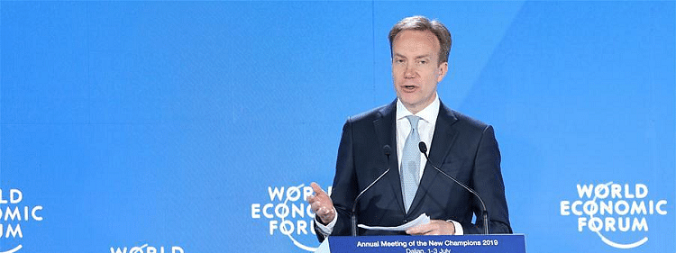 WEF chief praises China's poverty reduction progress, urges multilateralism