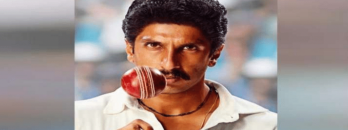 Ranveer Singh launches first look of '83 on  Kapil Dev's b'day