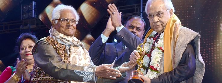 Dhritiman wins Living Legend for contribution to Indian Cinema