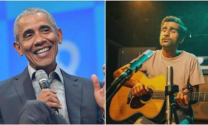 Indian singer Prateek Kuhad in Barack Obama's favourite music list