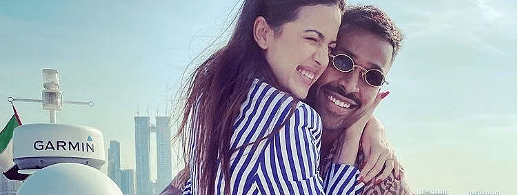 Wishes pour in for Hardik Pandya as he gets engaged to Natasa Stankovic