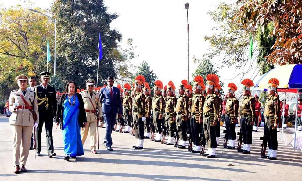 Republic day celebrated in Manipur amid tight security
