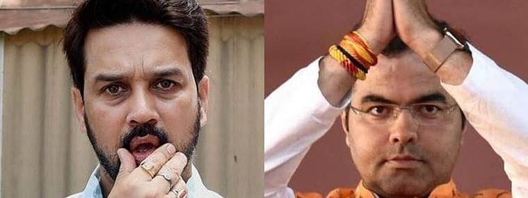 EC bars Anurag Thakur from campaigning for 3 days, Parvesh Singh for 4 days