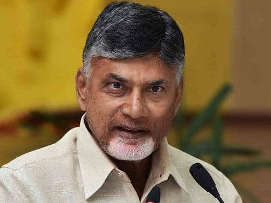 YSRCP Ministers behaved highhandedly with Lokesh: Naidu