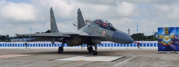 Sukhoi fighter planes inducted in Thanjavur