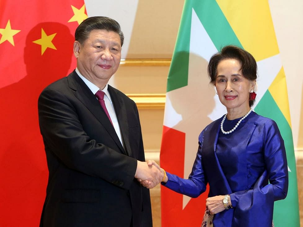 China Tightens Grip on Myanmar