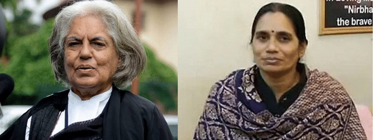 Nirbhaya's mother slams Indira Jaisingh