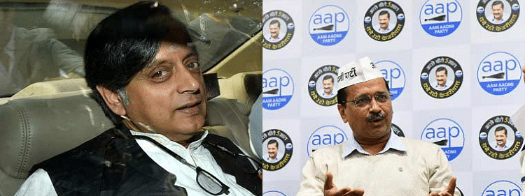 Tharoor tenders apology over comment on Kejriwal
