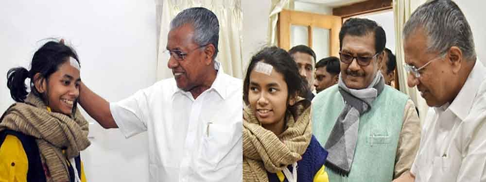 Kerala CM meets Aishe, gives 'warm wishes' for her fight ahead