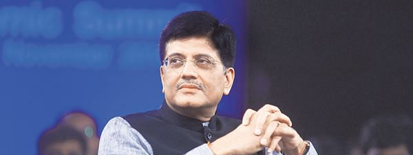 Piyush Goyal to lead Indian team to WEF