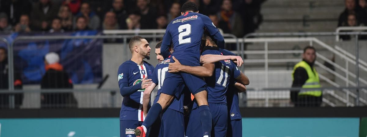 Fourth-division Epinal join PSG to progress into French Cup quarterfinals