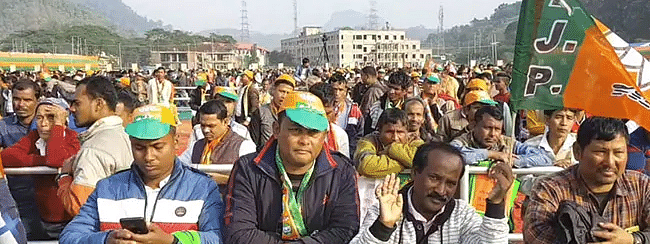 Nearly 1 Lakh participate in Assam BJP's Citizenship Law Rally