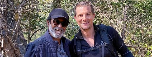 Discovery signs Rajinikanth for first episode of 'Into The Wild with Bear Grylls'