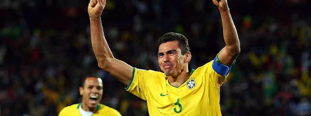 Brazil World Cup winner Lucio retires at 41