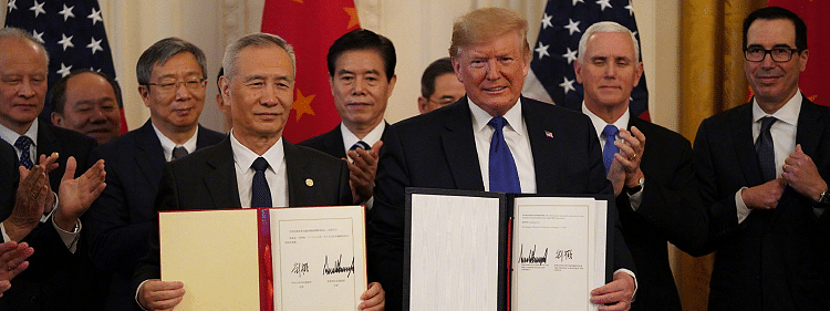 China-US phase-one trade deal has bearing on world peace, says Vice-Premier He