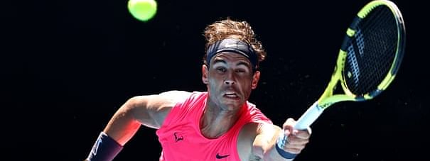 In form Nadal powers through to next round of Australian Open