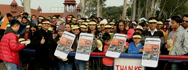 Road safety pledge at Wagah ceremony