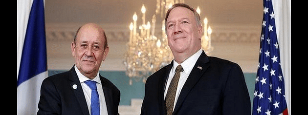 Pompeo discusses Iran, ISIS with French FM