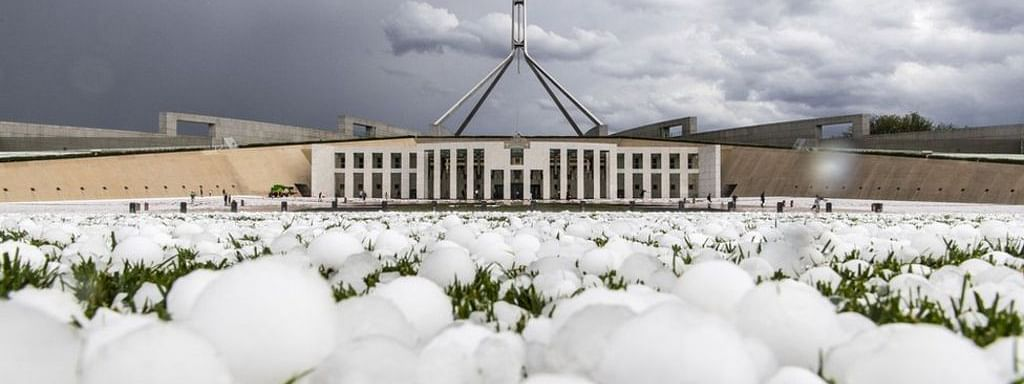 After bushfire tragedy, huge hail causes chaos in Australian cities