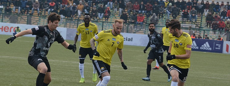 Real Kashmir, Punjab FC match ends in draw