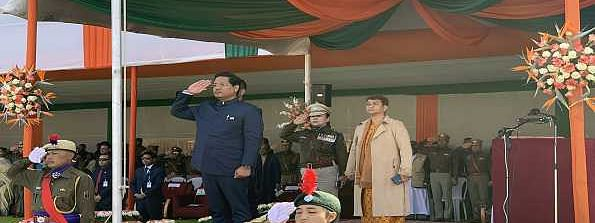 Meghalaya celebrates Republic Day amid tight security