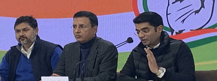 Cong alleges irregularities in awarding Rs 45,000 crore submarine project to Adani Defence JV