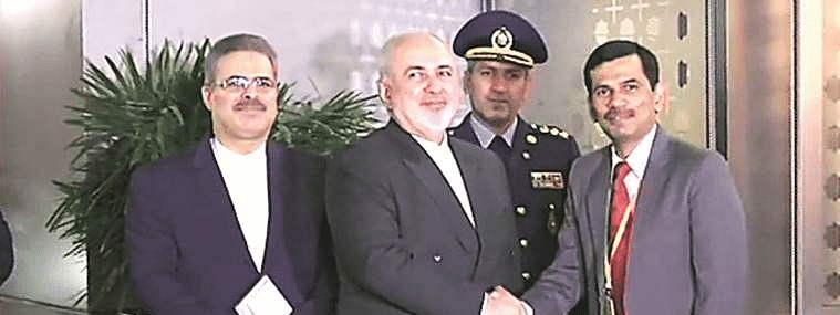Iranian Foreign Minister Javad Zarif arrives, slated to meet PM Modi