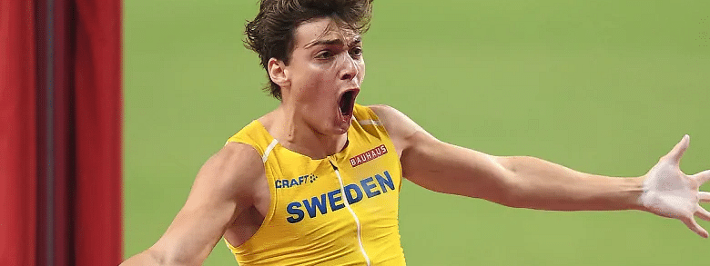Sweden's Armand Duplantis sets new World Record in Pole Vaulting