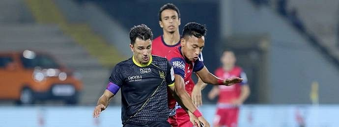 ISL: Jamshedpur FC managed a 1-1 draw with Hyderabad FC