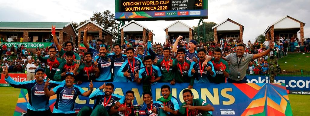 Bangladesh beat India by 3 wickets to win maiden ICC U-19 World Cup title