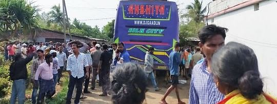 Bus comes in contact with 11 KV live wire, six killed, 40 hurt