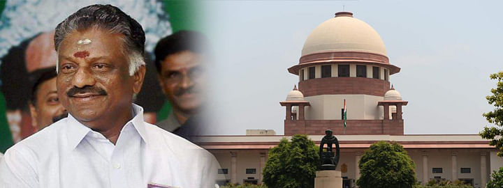Why no action against O Pannerselvam: SC