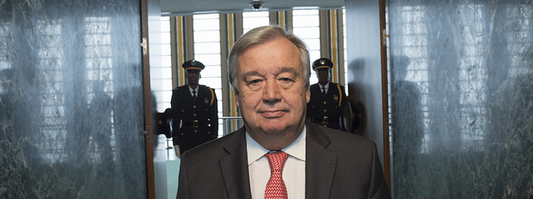 Greenhouse gas emitters must fight against climate change: Guterres