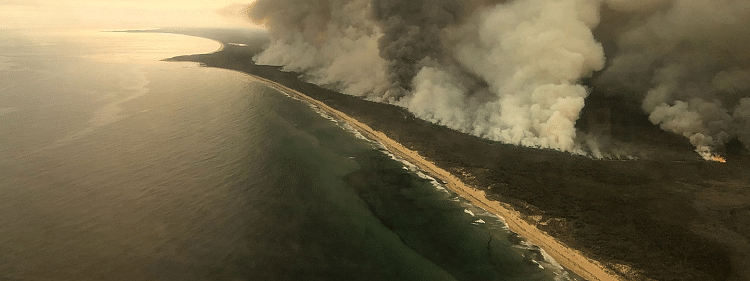 Australian bush fires contained
