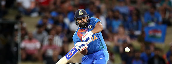 T20: Rohit Sharma's fifty guides India to 163/3 against Kiwis