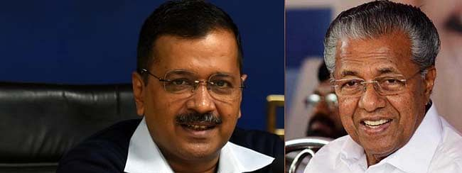 Kerala CM congrats Arvind Kejriwal for AAP's victory