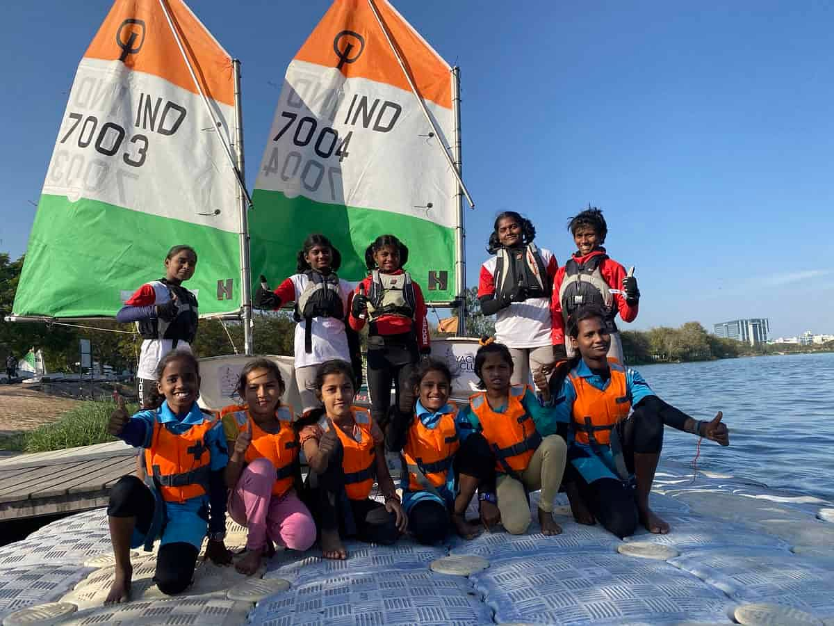 Two girl from Telangana selected for World Sailing Championship in Italy