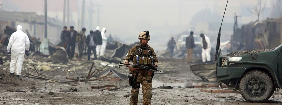 Afghanistan : Six killed in suicide bomb attack