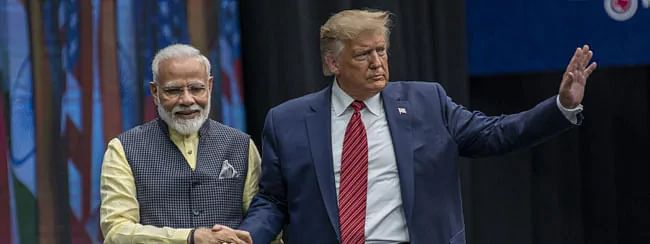 Shiv Sena criticises preparations ahead Trump visit