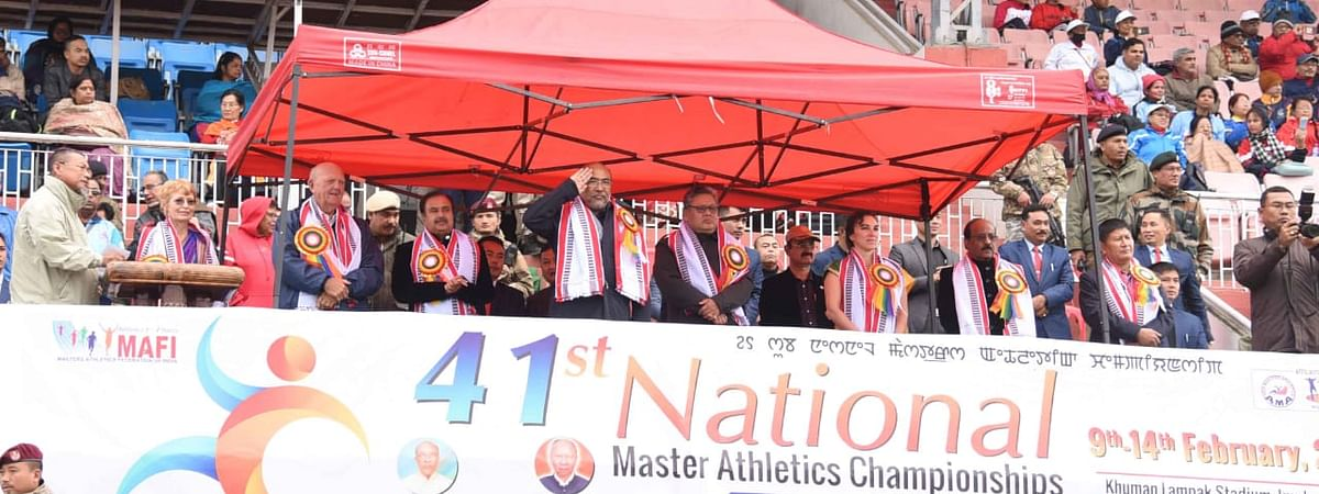 41st National Master Athletics Championship begins
