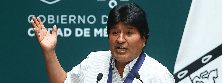 Exiled ex-Bolivian Prez Morales registers as candidate for Senate