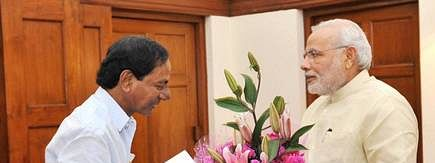 KCR turns 66; Modi sends greetings