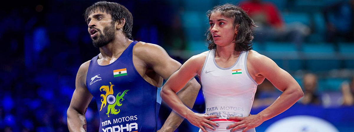 Asian Wrestling C'ships: Bajrang, Vinesh to lead India's challenge