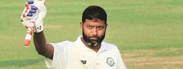 Wasim Jaffer becomes first batsman to score 12,000 runs in Ranji Trophy