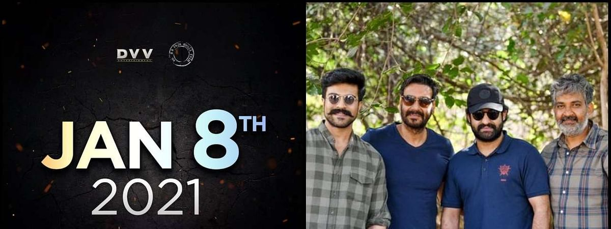 Rajamouli's 'RRR' to hit theatres on January 8