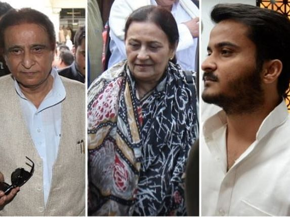 Azam Khan, wife, son sent to jail after surrendering in court