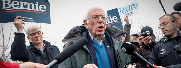Sanders leads New Hampshire primary with 30 pc of precincts reporting