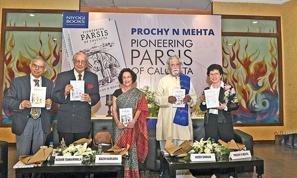 Book throwing light on Parsi heritage of Kolkata released
